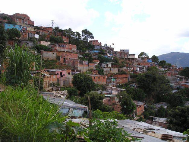 Vista parcial barrio La Moran