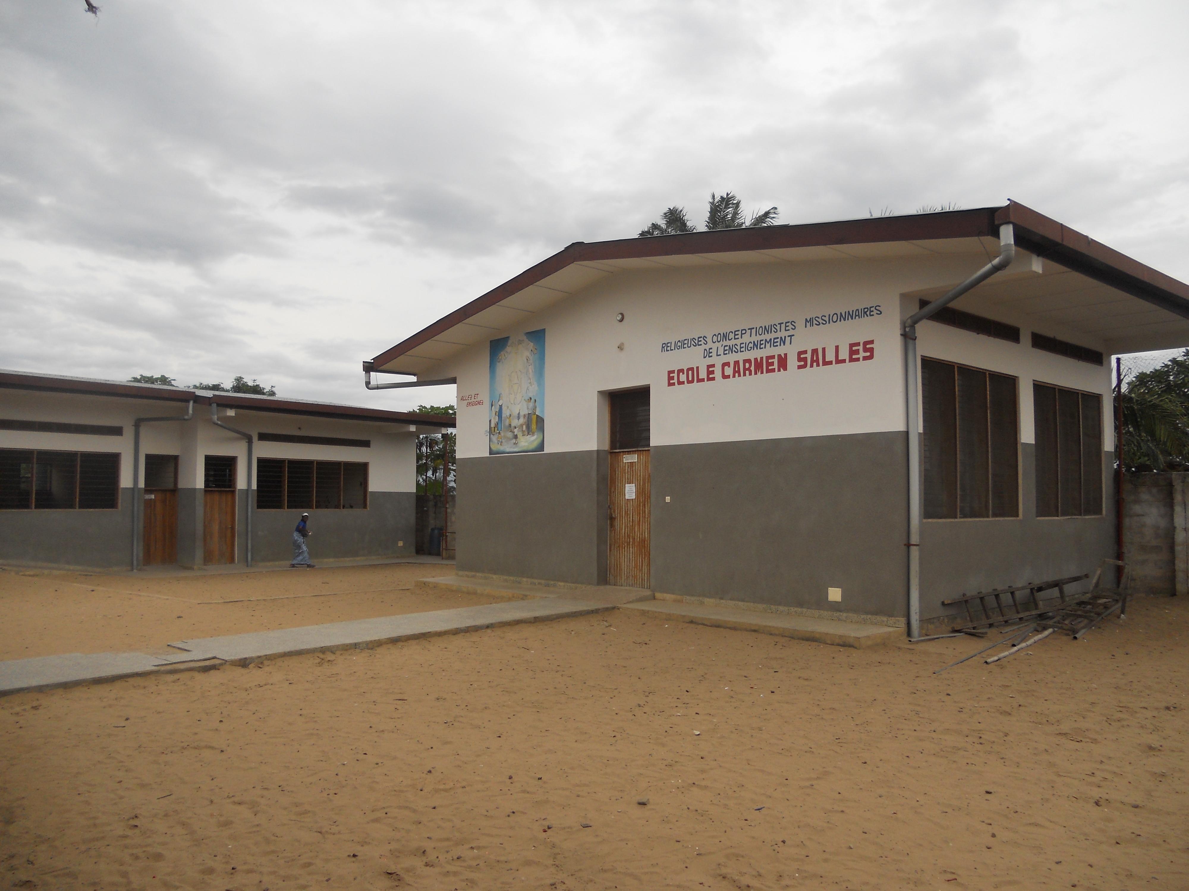Vista general de la Escuela de Infantil y Primaria