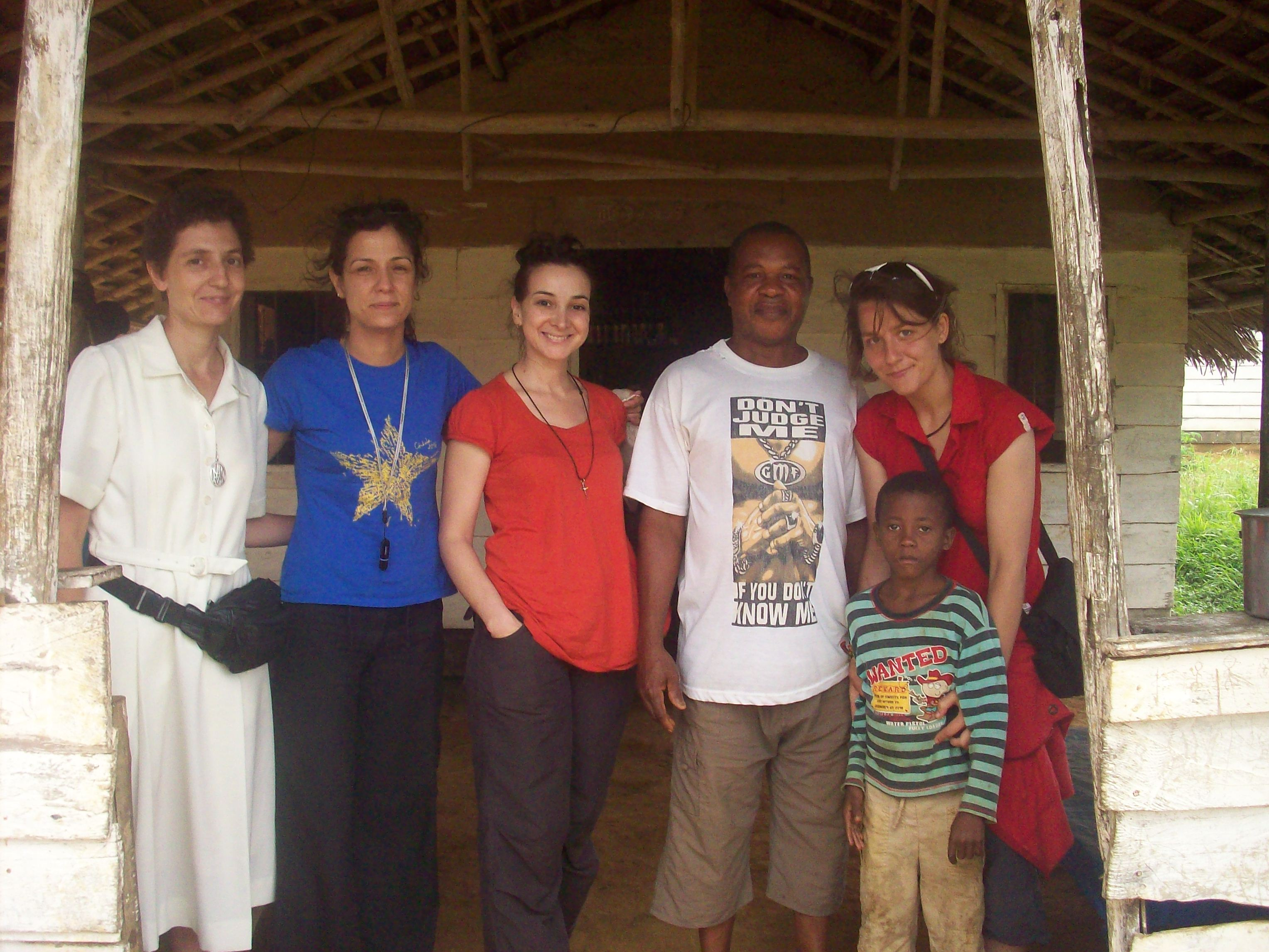 Grupo voluntarios verano 2010