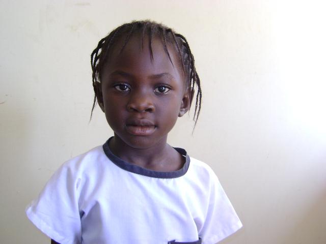 Sara Ndona, alumna de la escuela
