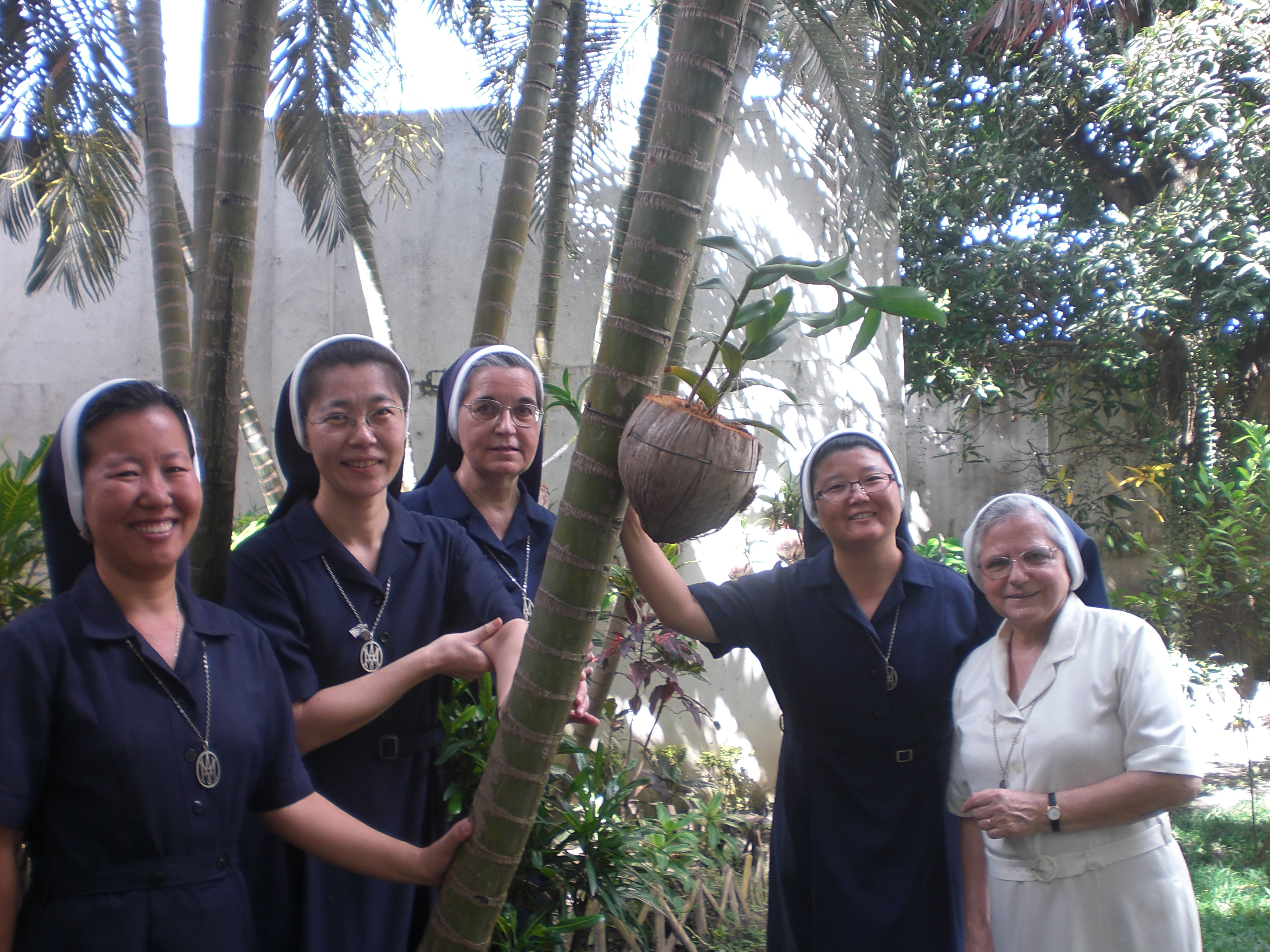 Religiosas de la comunidad de Bacolod