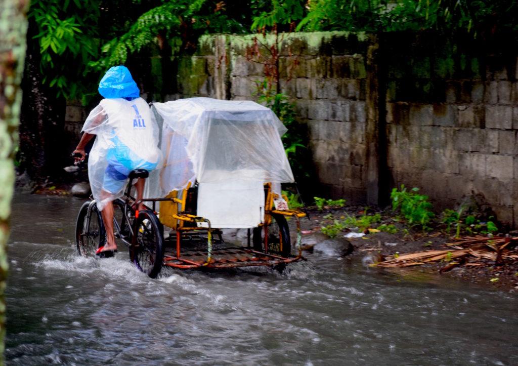 Inundaciones en Bacolod por lluvias