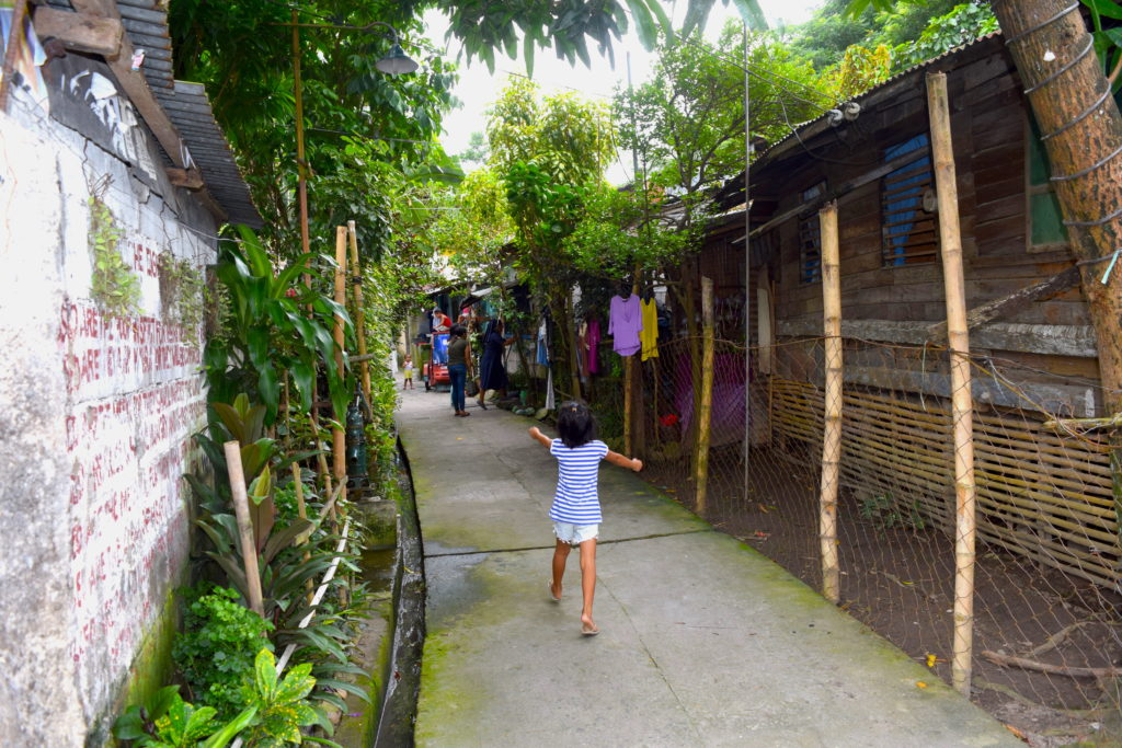 Calle típica de Bacolod
