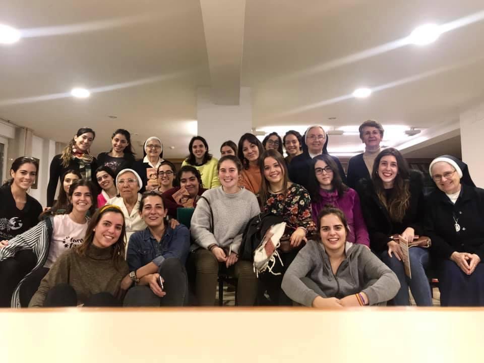 Compartiendo experiencia misionera en Santiago de Compostela