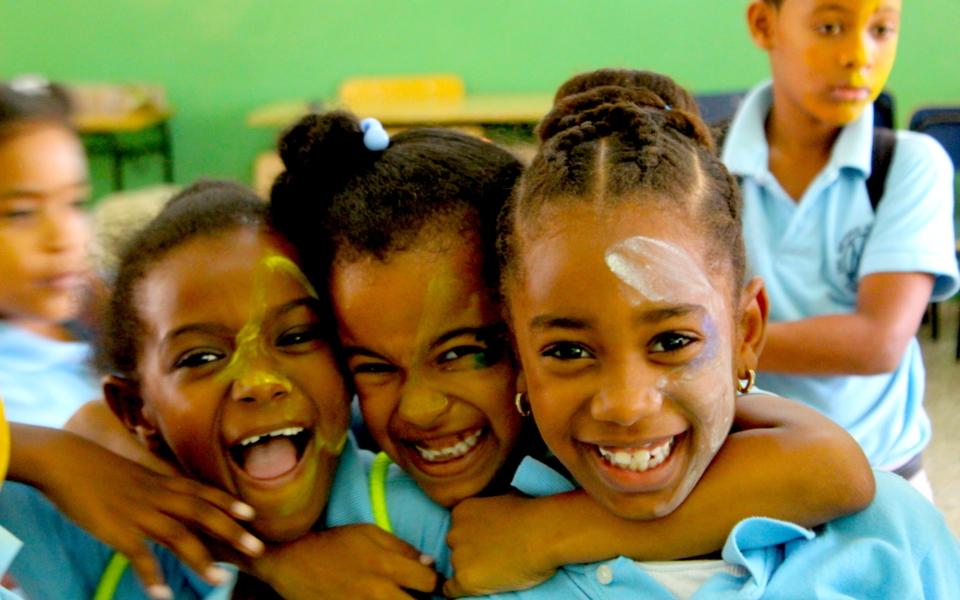 Escuela Consuelo alumnas