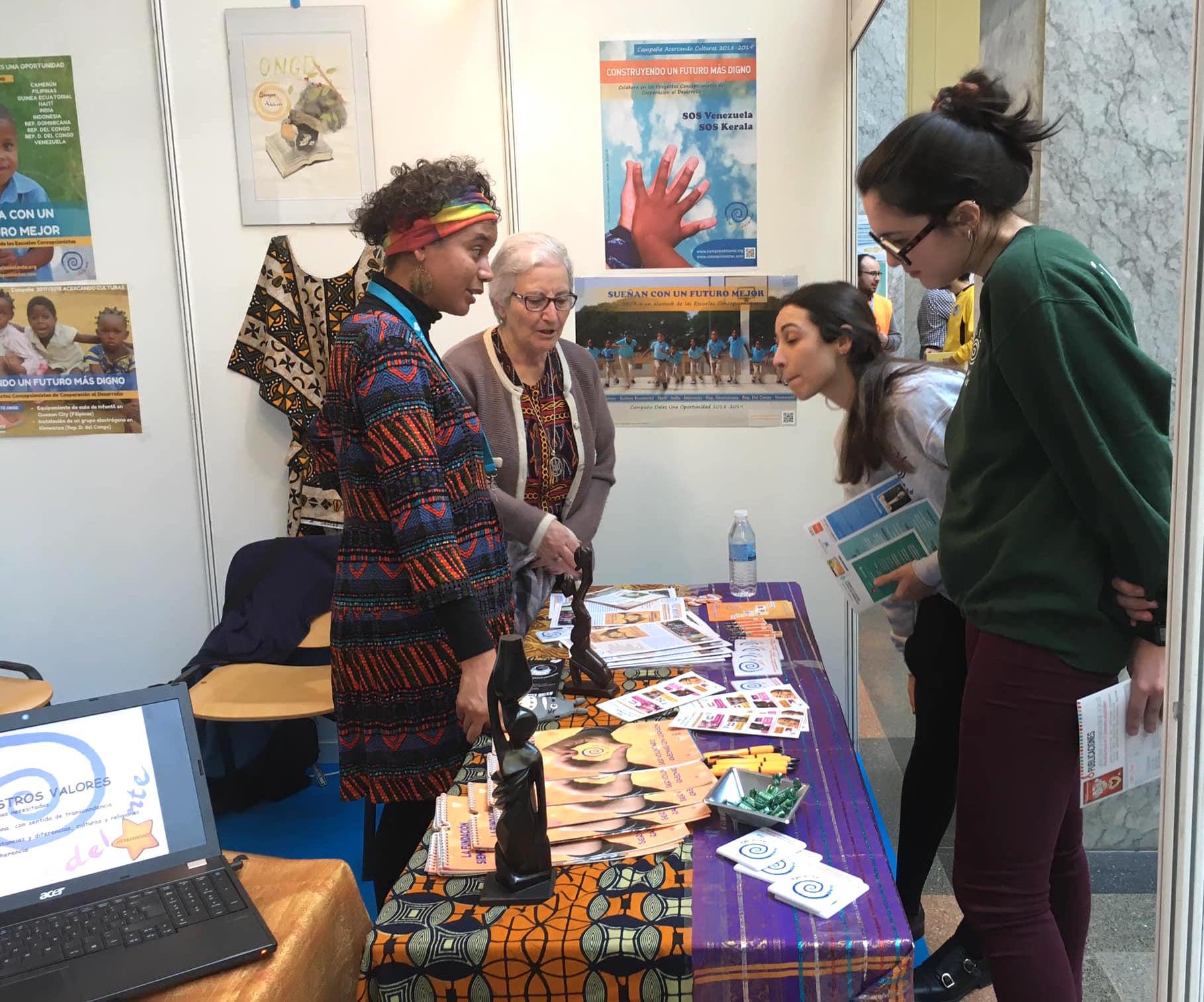 Fundación Siempre Adelante participa en Volunfair
