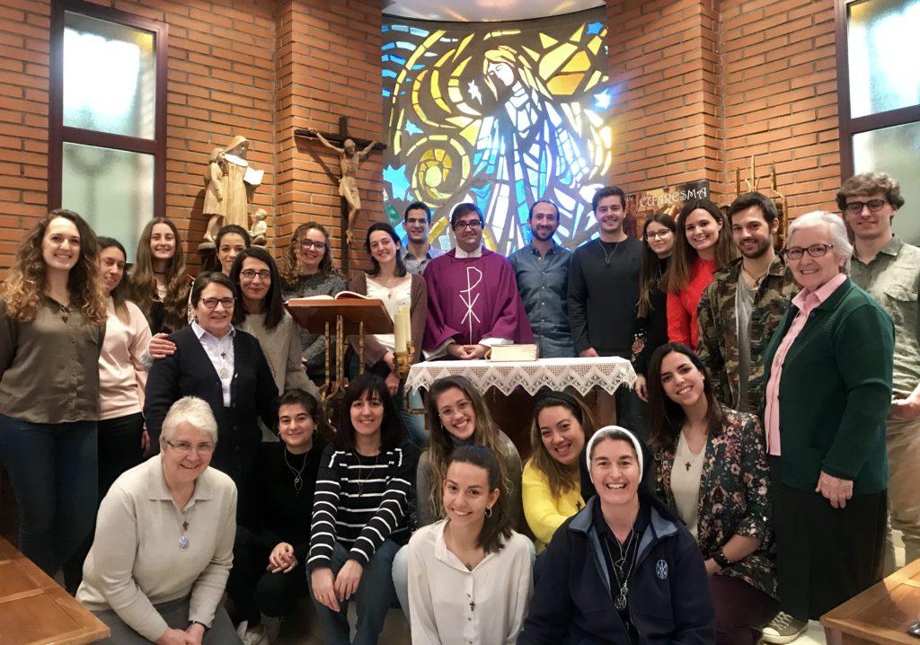 Voluntarios proyectos misioneros 2019