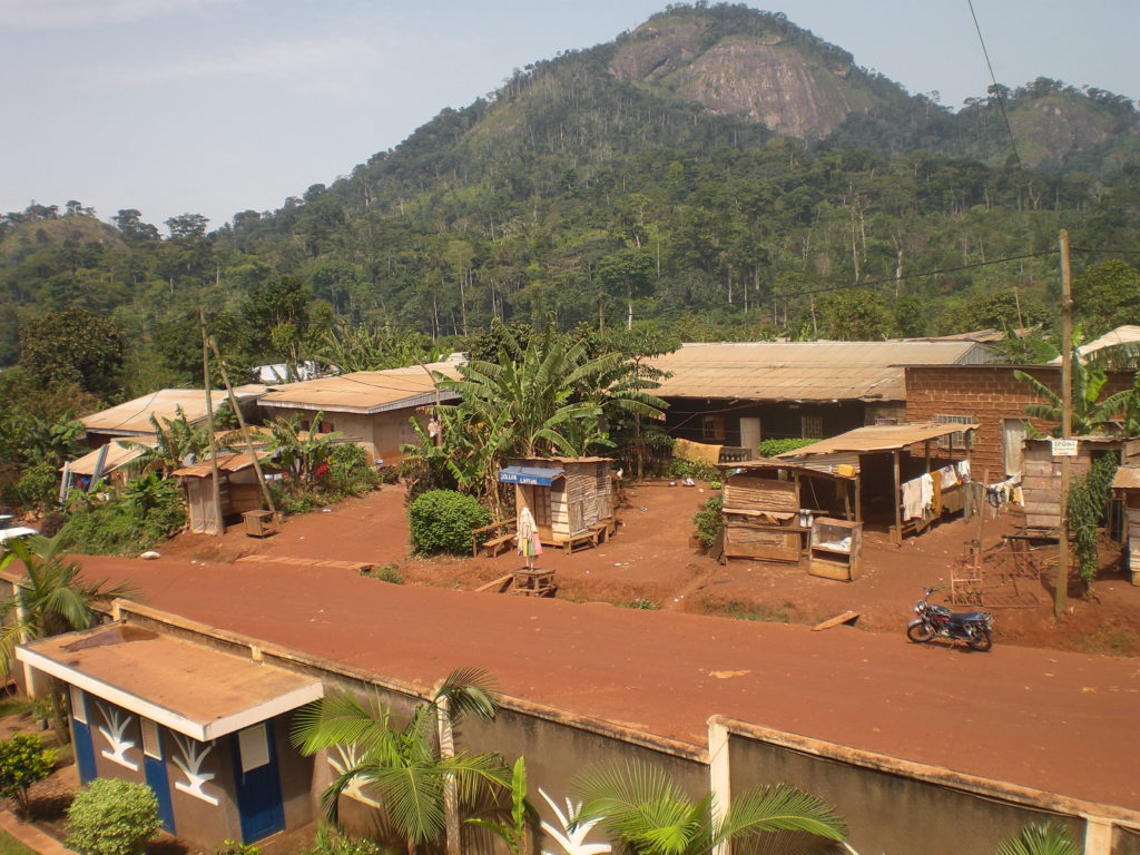 El barrio donde se encuentra la escuela marie inmaculée