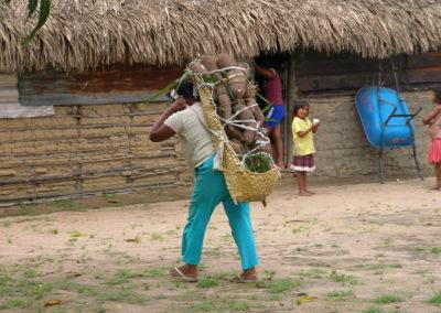 Escena cotidiana en Morichalito