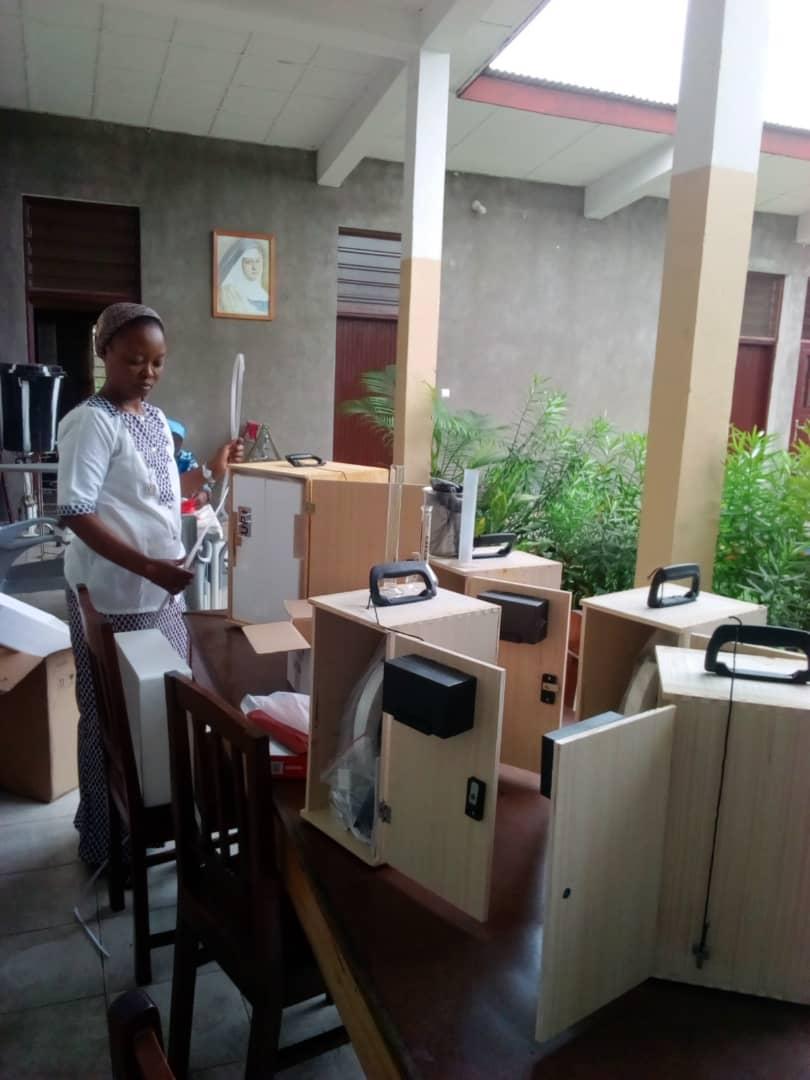 fotos laboratorio Brazzaville (1)