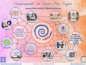 Campaña Acercando Culturas 2020-21 Fundación Siempre Adelante