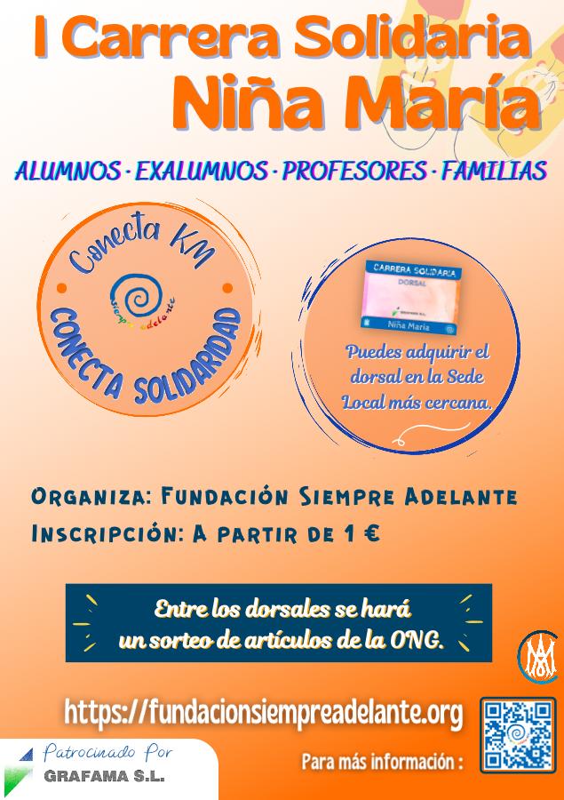 FSA - Cartel Carrera Niña María