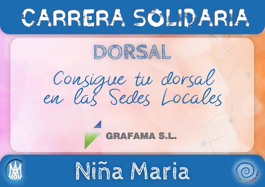 FSA - Dorsal Carrera Niña María