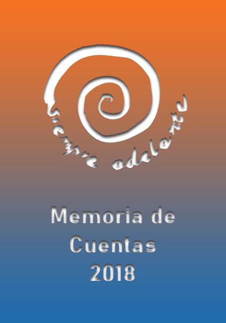 Portada Memoria Cuentas 2018